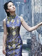 美女刘亦菲旗袍写真