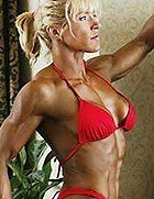 肌肉比男人多的女人