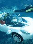 海洋中驰骋的超级跑车 揭秘水下跑车高清酷照