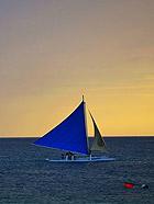 菲律宾长滩岛 唯美梦幻的暮色