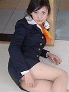 高气质模特空姐制服美腿