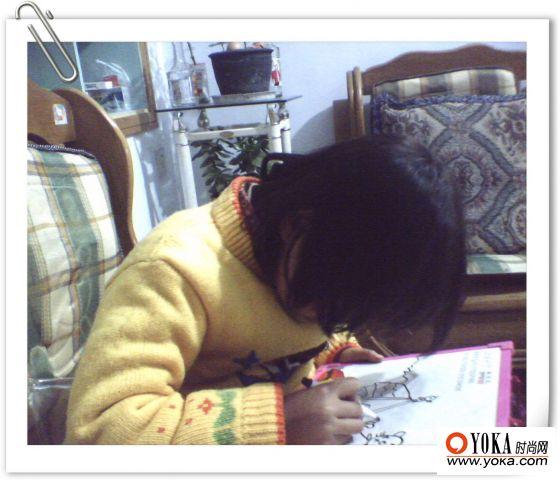 20周末话题】--女儿的简笔画