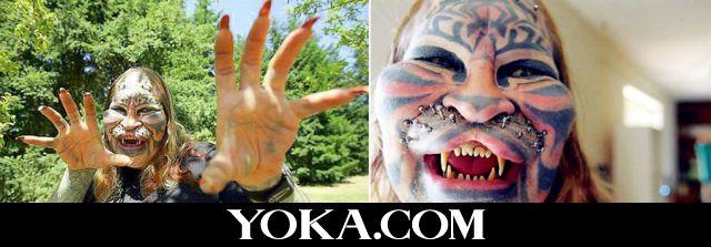 老虎覆盖纹身图案大全