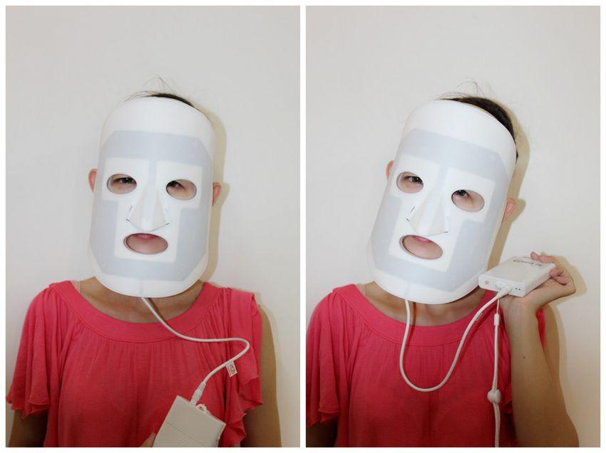 人的面具的感觉