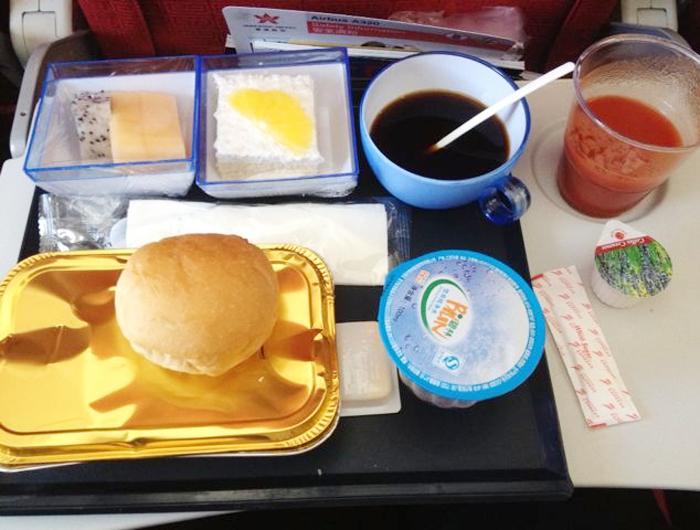 夸一夸香港航空的飞机餐