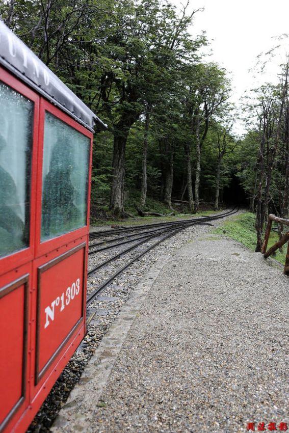 阿根廷火地岛国家公园の森林火车