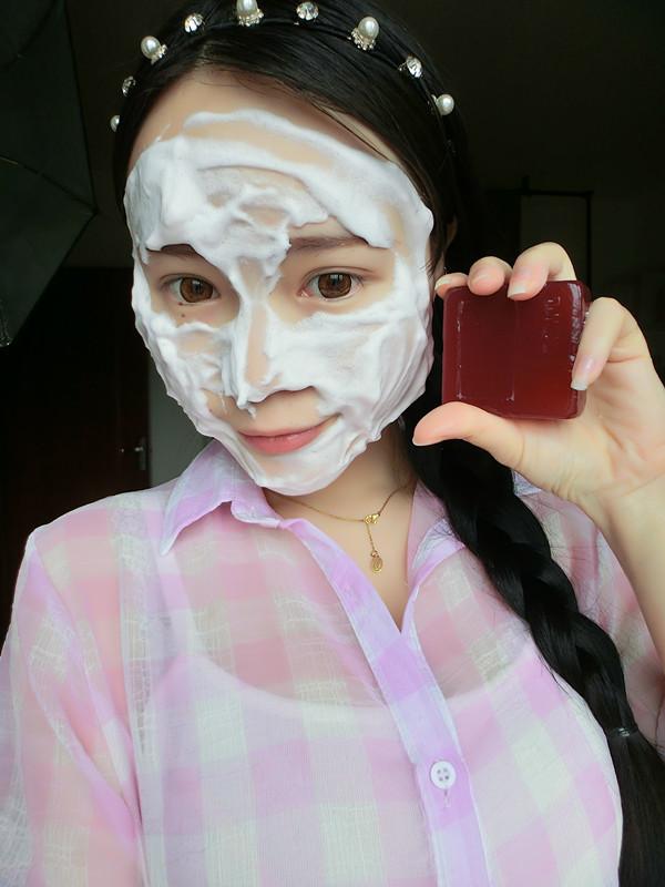 莲Anna草木之心洁面古皂洗出白嫩肌肤施华蔻洗发水打造超模般美丽