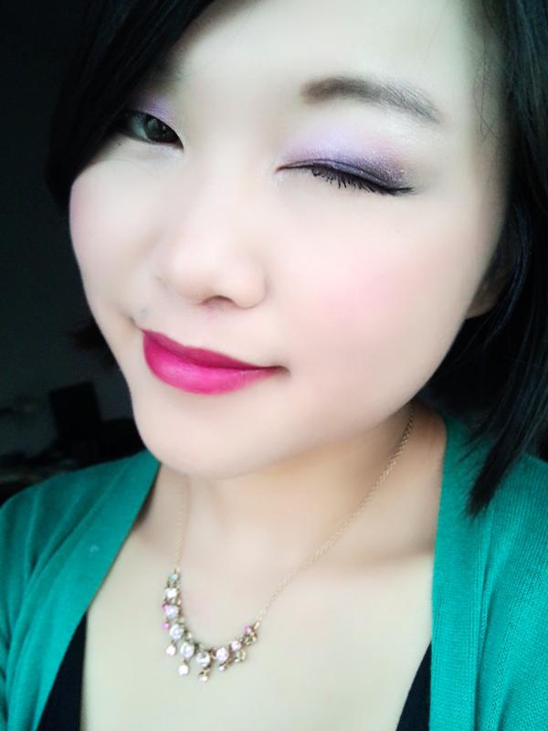 【恶趣味圆子】轻松打造紫色明艳约会妆