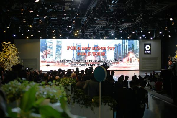 【辣妈米奇】乐享其城 | 全新奔驰smart fortwo亚洲首秀