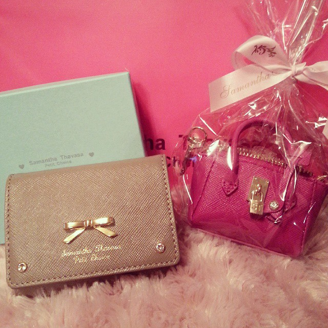 喜欢可爱的东东 晒晒那些Miu miu的包子