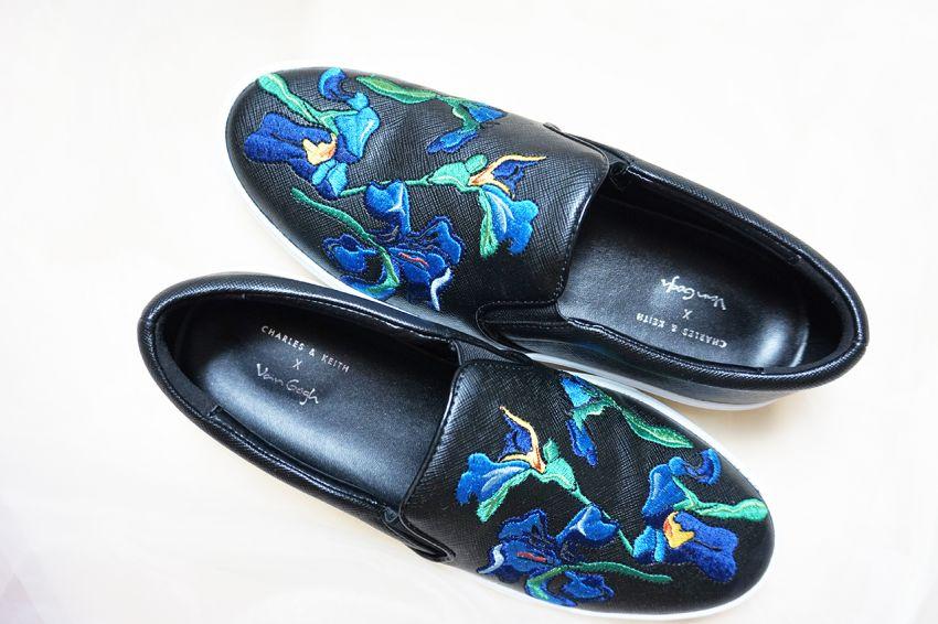 刺绣平底鞋 艺术时尚和生活的完美结合
