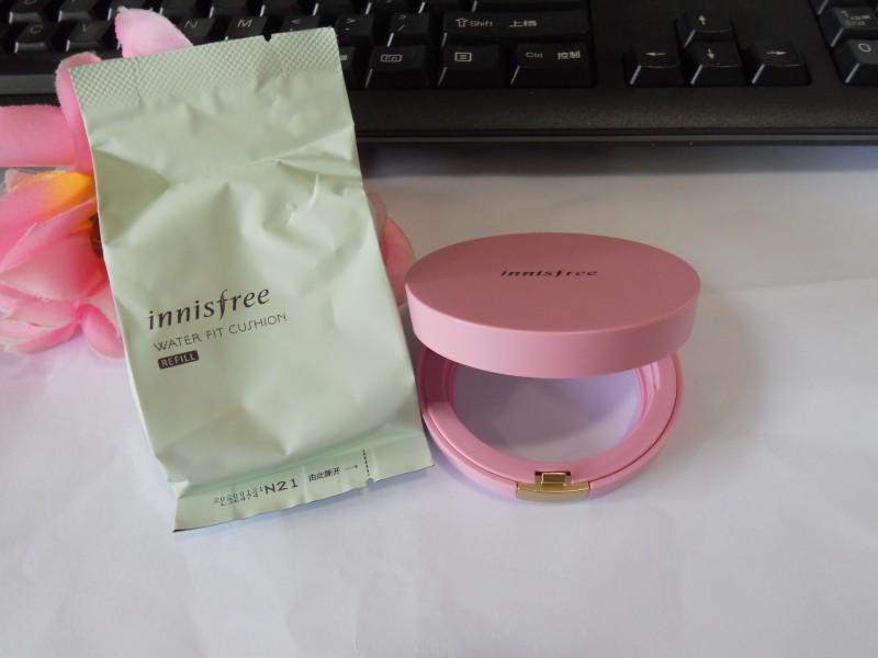 【晒奖】悦诗风吟粉色气垫限量版