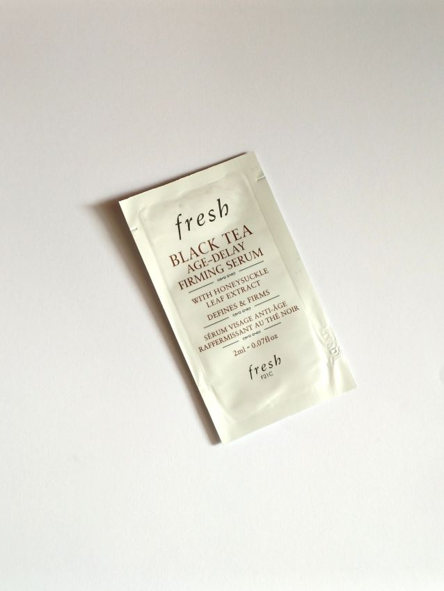 【fresh红茶紧致修护精华露】紧致美颜