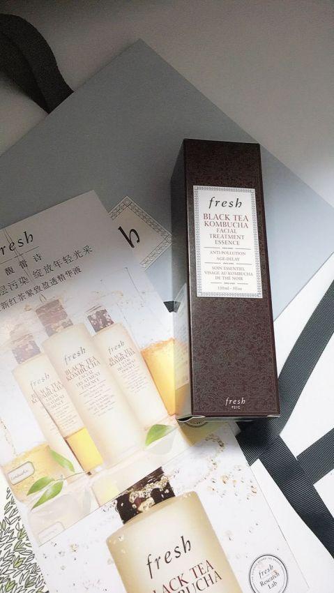 fresh新品-红茶酵素精华液使用心得