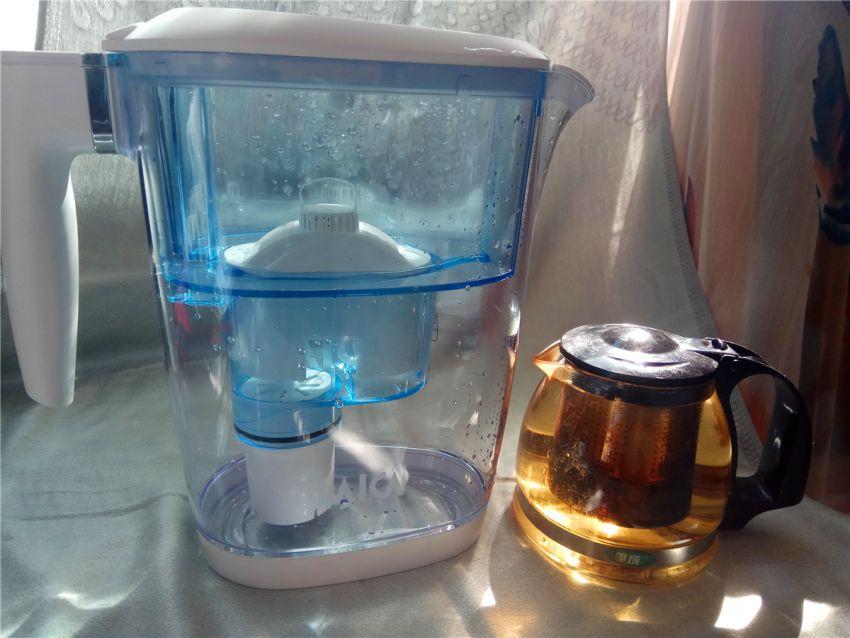 眼见为实的纯净过滤,LAICA莱卡直饮净水壶!